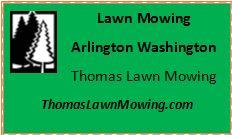 Lawn Mowing Arlington Washington State