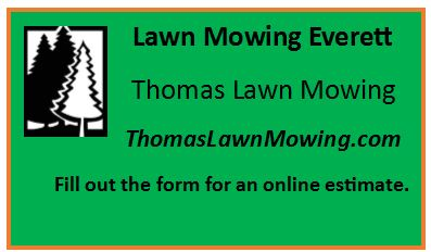 Lawn Mowing Everett Washington State