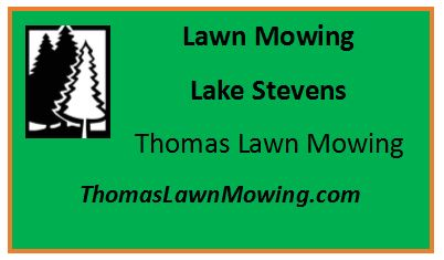 Lawn Mowing Lake Stevens Washington State