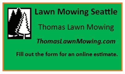 Lawn Mowing Seattle Washington State