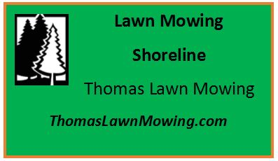 Lawn Mowing Shoreline Washington State
