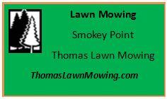 Lawn Mowing Smokey Point Washington State
